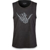 Dakine Shaka Tech Tank Women Heather Black